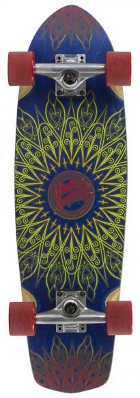 Mindless Mandala longboard Navy 8.125 x 28