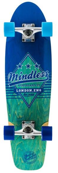 Mindless Daily Grande II longboard Blue 7,75 x 28