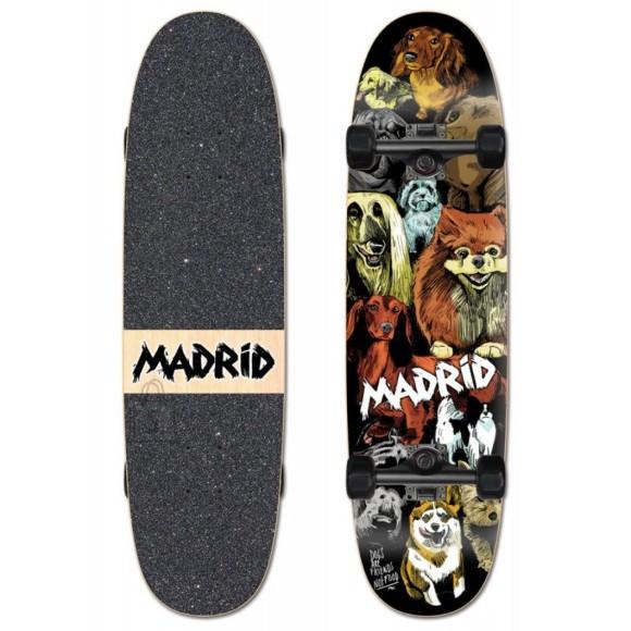 Madrid Longboard Combi Dogs 8,625x32,5