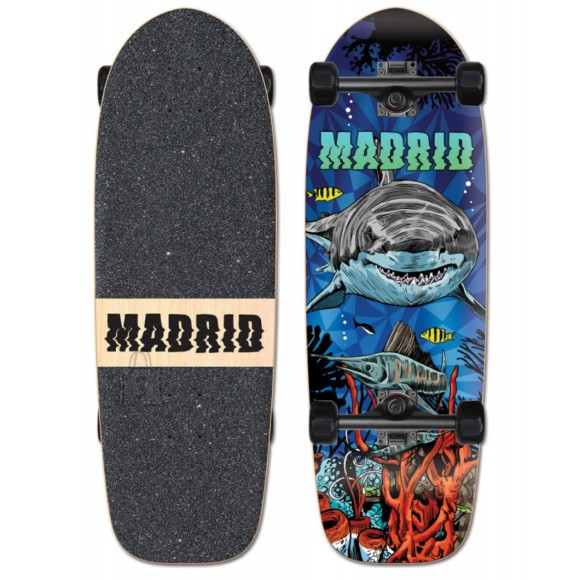 Madrid Marty Longboard Shark 9,5x29,5