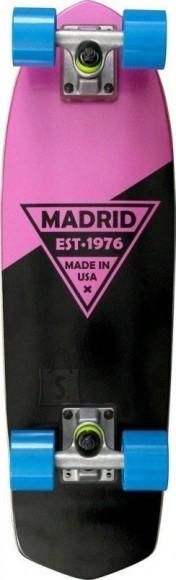 Madrid Longboard Party Pink Metallic Logo