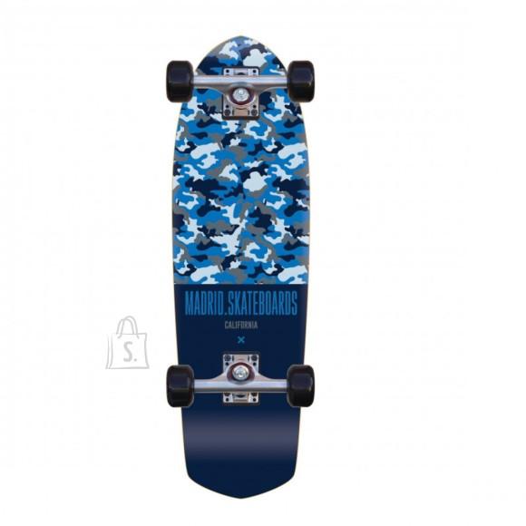 Madrid Longboard Picket Camo Blue 8,25x28,5