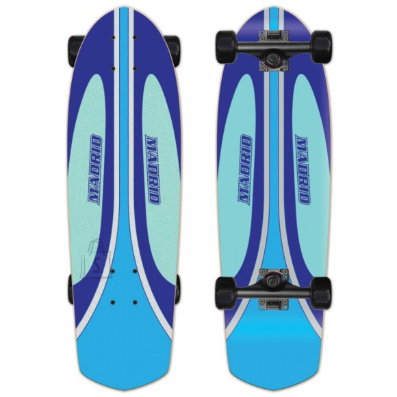 Madrid Longboard Picket Waverunner Blue 8,25x28,5