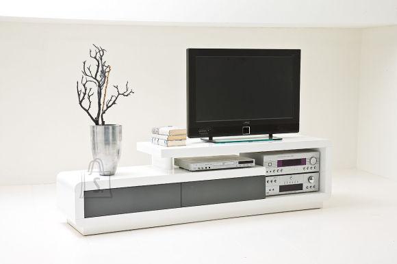 TV-alus Celia valge/hall