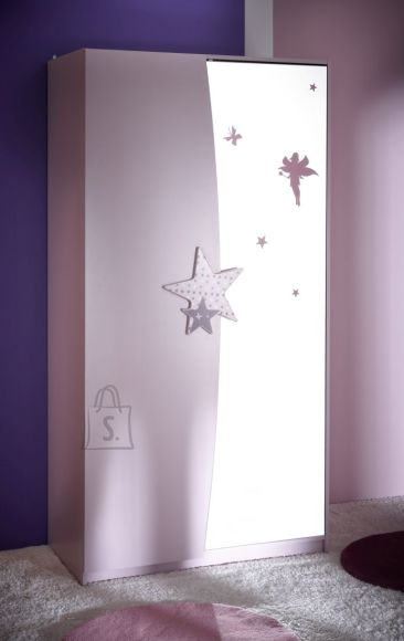 Riidekapp Fairy 2-uksega