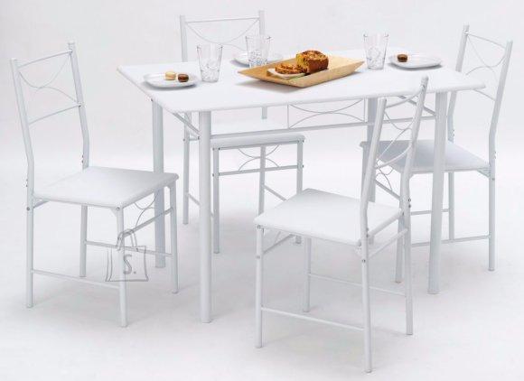Söögilaud Whitney + 4 tooli
