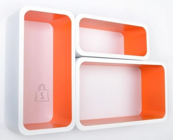 Seinariiulid Color LO88, valge/oranž