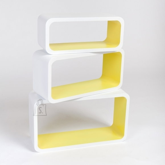 Seinariiul Color LO88, valge/kollane