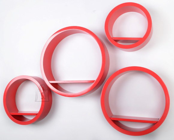 Riiulid Color LA01, punane