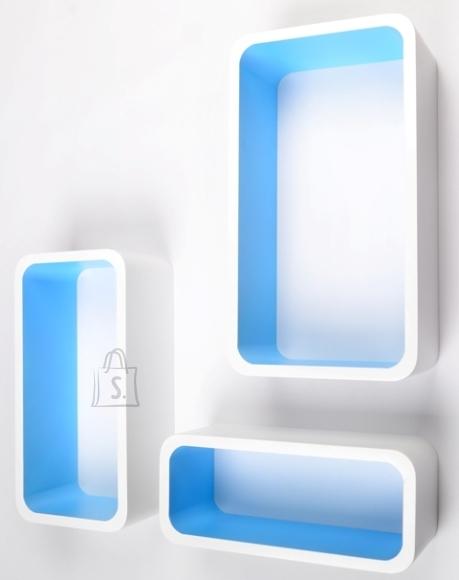Seinariiulid Color LO88, valge/sinine