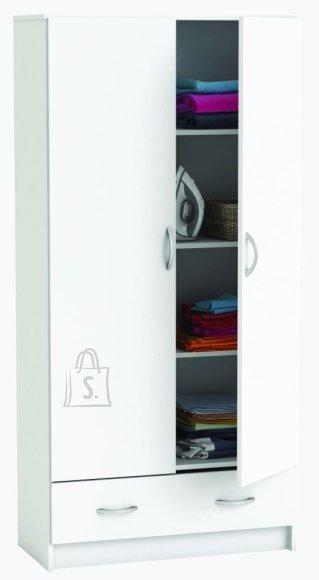 Riidekapp Dual 2-ukse ja 1-sahtliga