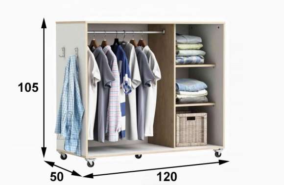 Garderoobisüsteem Attic