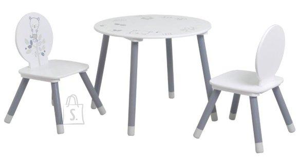Lauakomplekt Bear laua ja 2 tooliga