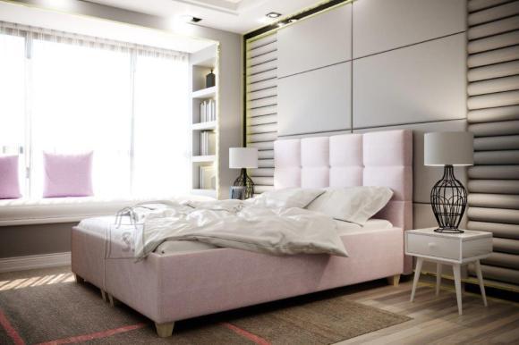 Pesukastiga voodi Italia 140x200 cm