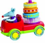 Taf Toys püramiidiga auto Stacker Truck