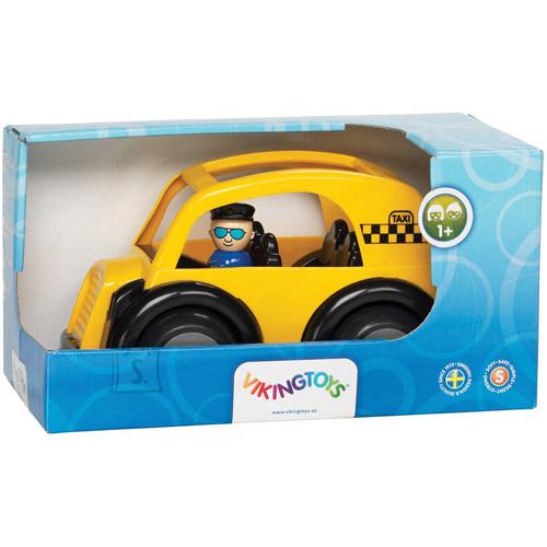 Viking Toys mängusõiduk takso + 2 figuuri