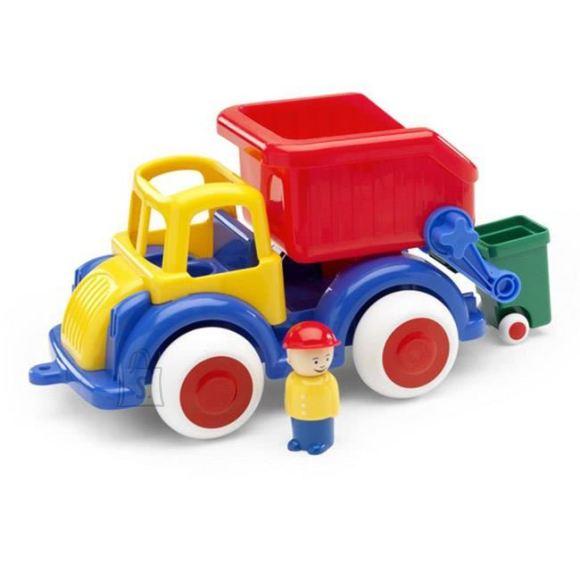 Viking Toys mängusõiduk prügiauto + 1 figuur