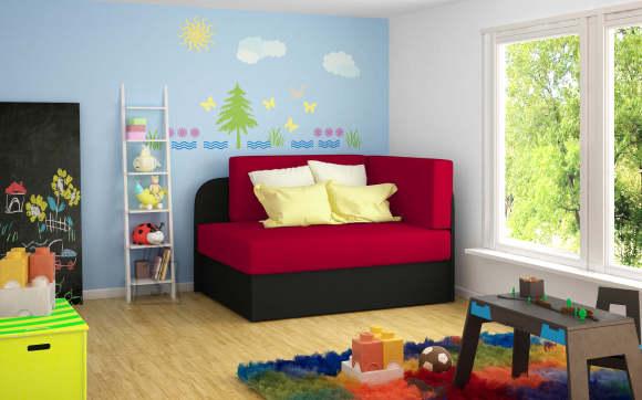 Laste diivanvoodi Rosa, erinevad värvid
