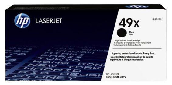 HP Tooner HP Q5949X, 6000 lehte, must