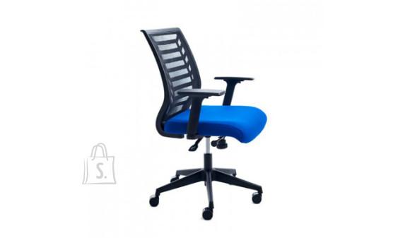 Bürootool ROCADA 907, sinine tekstiil, must alus