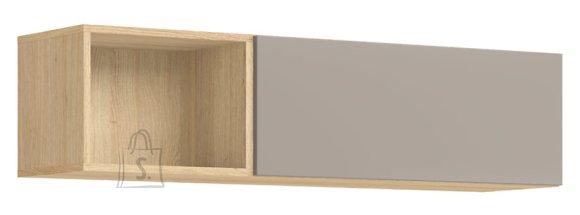 Seinakapp Moko 1-klappukse ja avatud riiulivahega