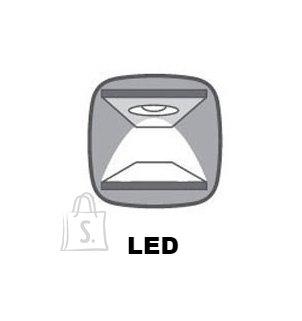 LED valgustus kõrgele Zele vitriinkapile