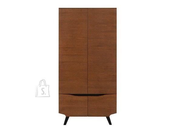 Madison wardrobe brown oak
