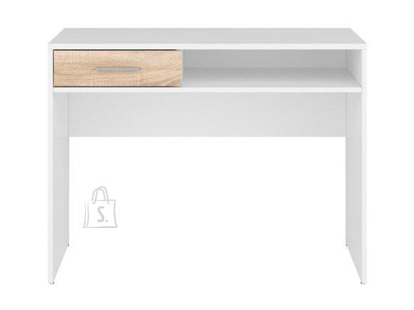 Nepo Plus desk white/sonoma oak