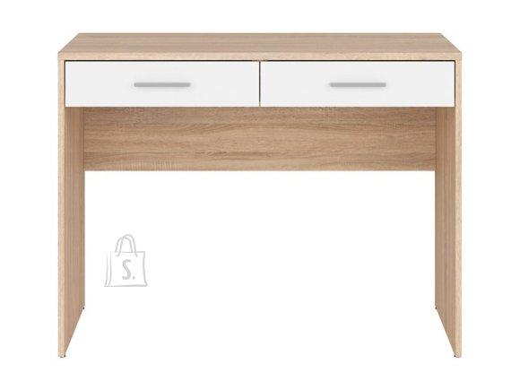 Nepo Plus desk sonoma oak/white