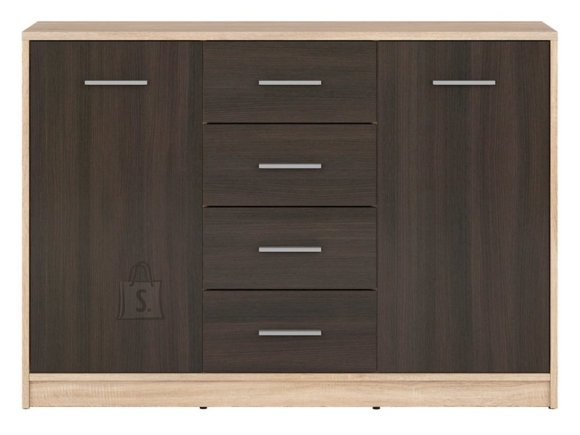 Nepo Plus drawer Sonoma oak / wenge