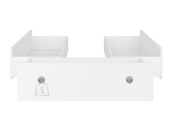 Nepo Plus bed drawers 140 white