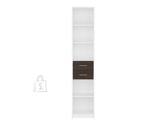 Nepo Plus bookshelf white/wenge