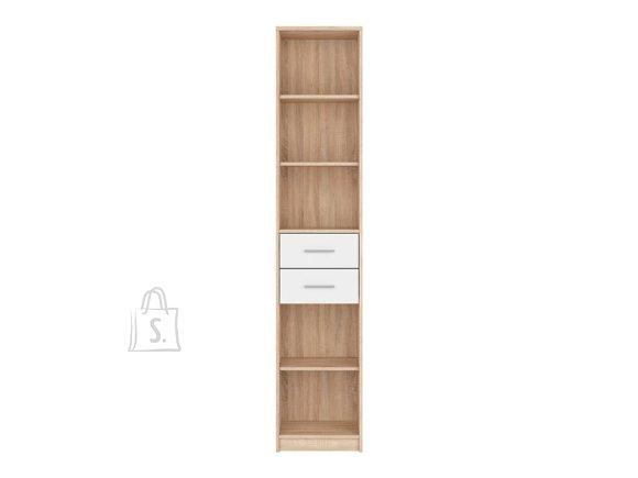Nepo Plus bookshelf sonoma oak/white