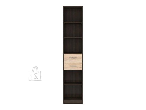 Nepo Plus bookshelf wenge / Sonoma oak