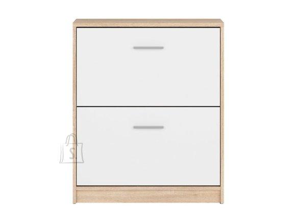 Nepo Plus shoe cabinet sonoma oak/white