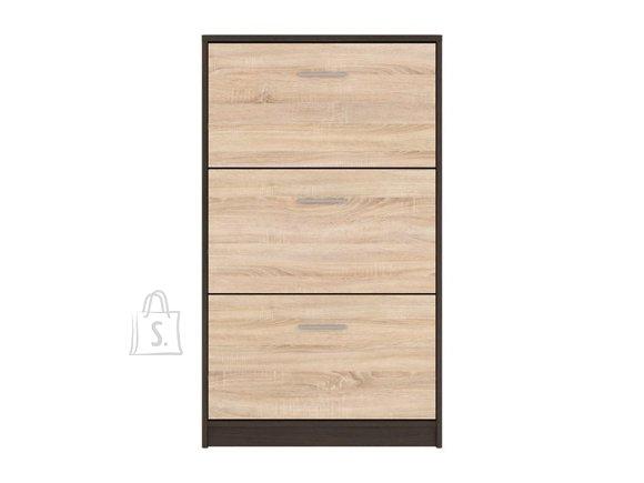 Nepo Plus shoe cabinet wenge / Sonoma oak