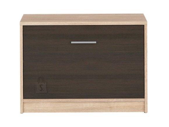 Nepo Plus shoe cabinet Sonoma oak / wenge