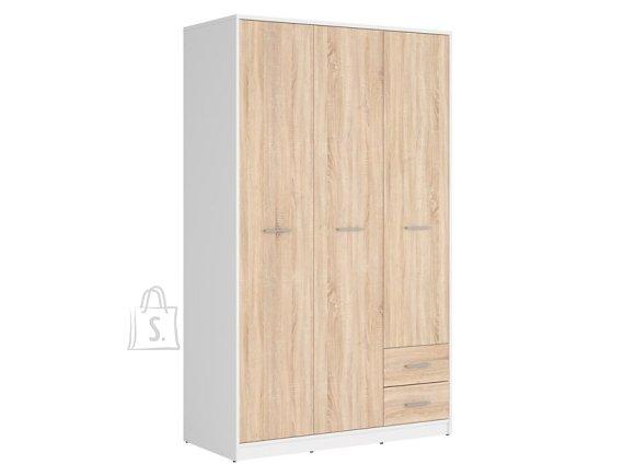 Nepo Plus wardrobe white/sonoma oak