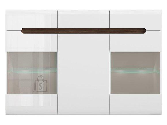 Azteca Trio drawer white/white gloss