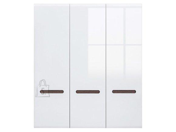 Azteca Trio wardrobe white/white gloss