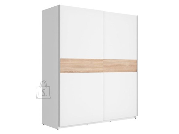 F27 wardrobe 170 white/sonoma oak