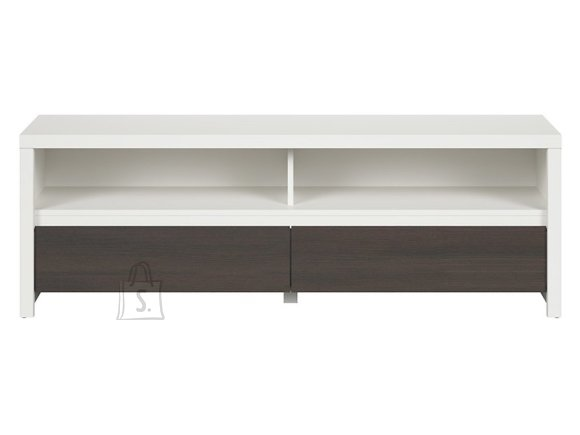 Kaspian tv cabinet white/wenge