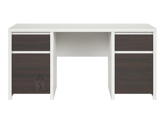 Kaspian desk white/wenge