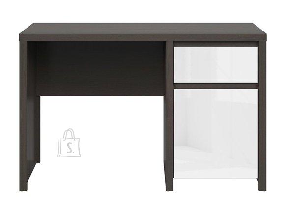 Kaspian desk wenge/white gloss