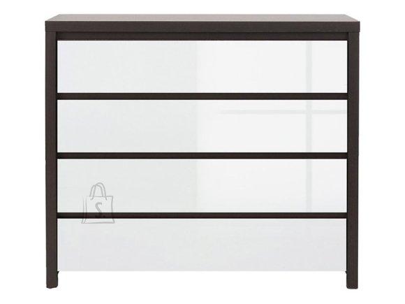 Kaspian drawer wenge/white gloss