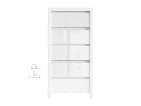 Kaspian drawer white/white gloss