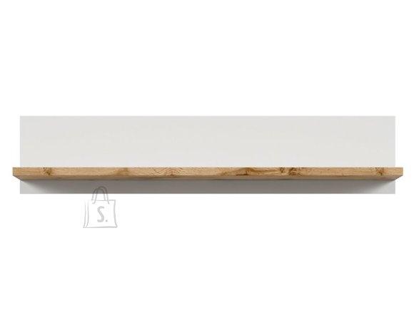 Holten shelf white/oak wotan