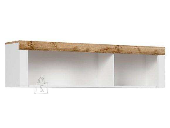 Holten hanging cabinet white/oak wotan