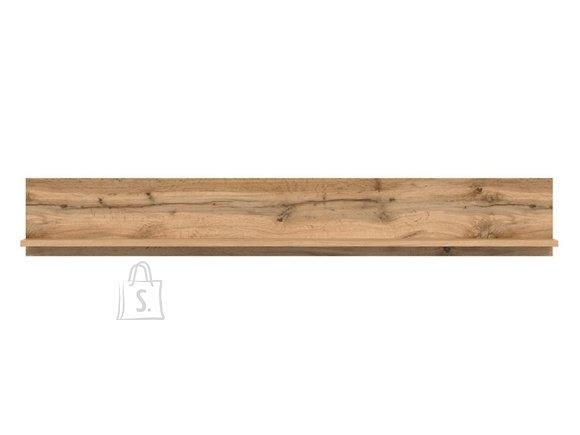 Zele shelf wotan oak