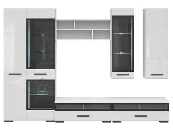 Assen 1 wall unit white/white gloss